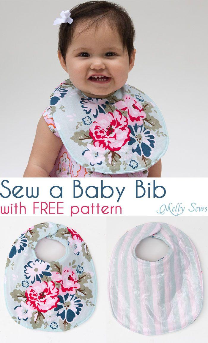 Sew A Drool Bib Free Baby Pattern Bibs Patterns