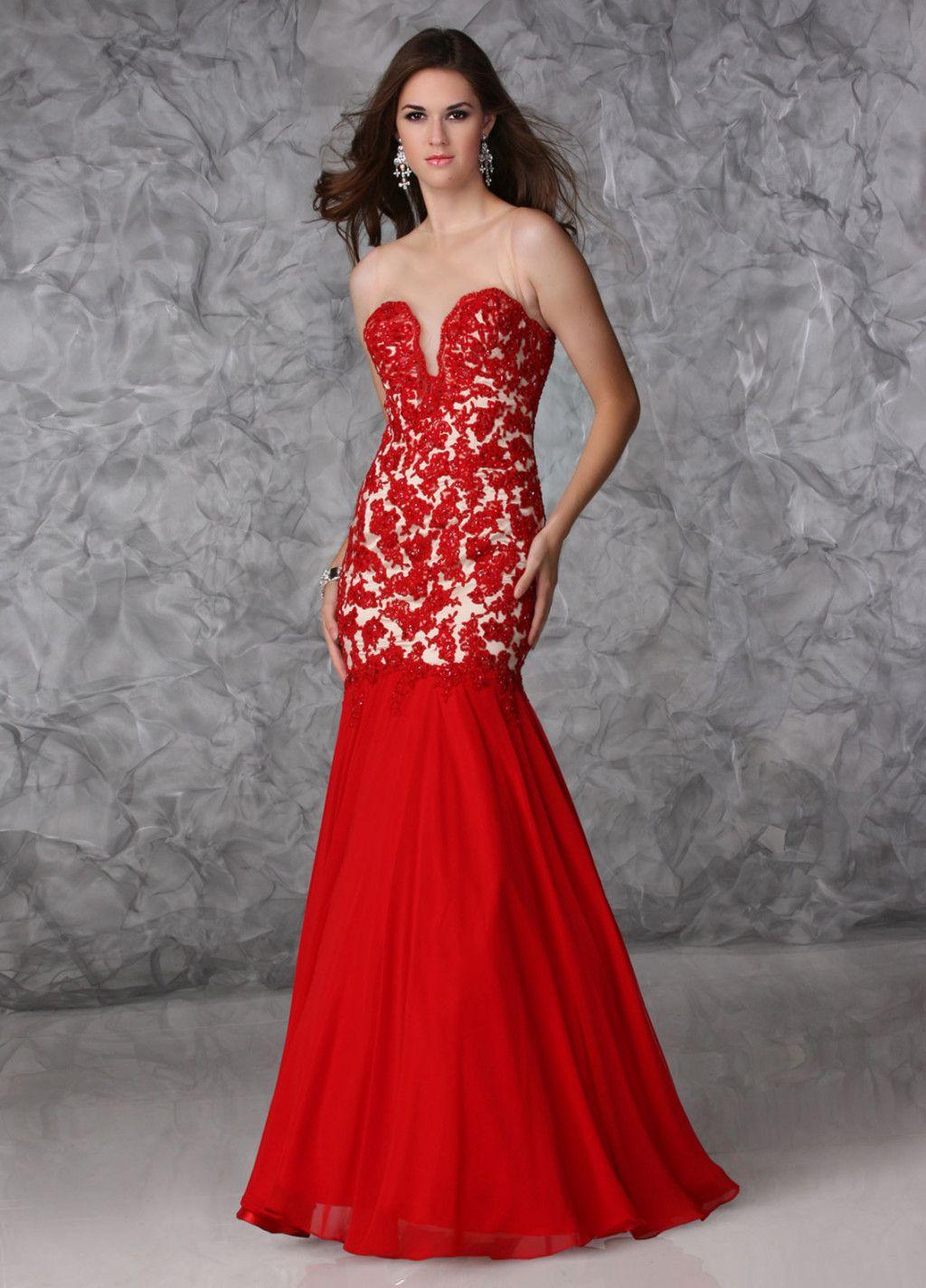 Long Red Prom Dresses Under 100 Photo Album - Reikian