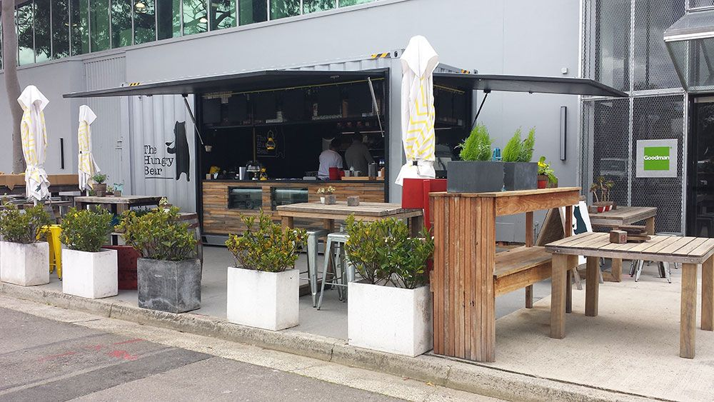 Goodman Container Cafe Bar by Price and Speed Container