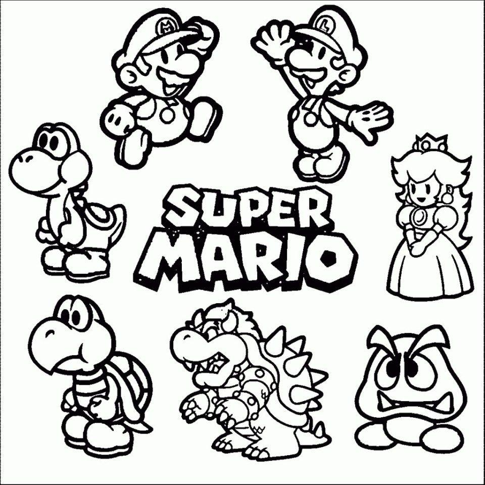 Mario Coloring Pages Coloring Pages Luigi And Mario Coloring Page Amazing Super Pages Entitlementtrap Com Libri Da Colorare Pagine Da Colorare Per Bambini Pagine Da Colorare Di Natale