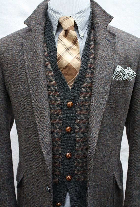 fd14e23c41a Cool Stuff We Like Here   CoolPile.com ------- ------- Mens Vintage 100  Pure Wool Tweed Sport Coat by ViVifyVintage