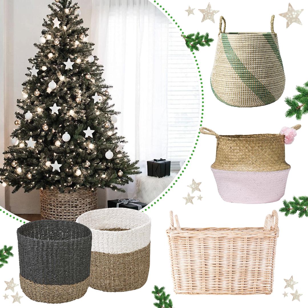 Heb jij al een leuke mand om je Kerstboom in te laten stralen ...