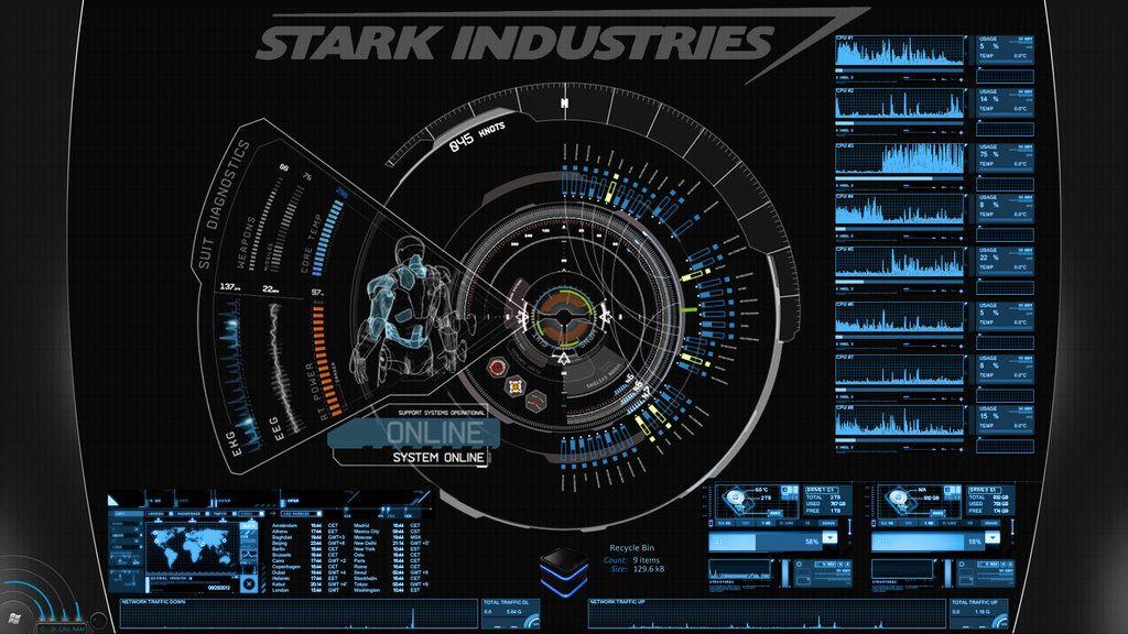 Pin By Laurent Nivet On Interface Design Jarvis Iron Man Iron Man Iron Man Wallpaper Iron man wallpaper jarvis desktop