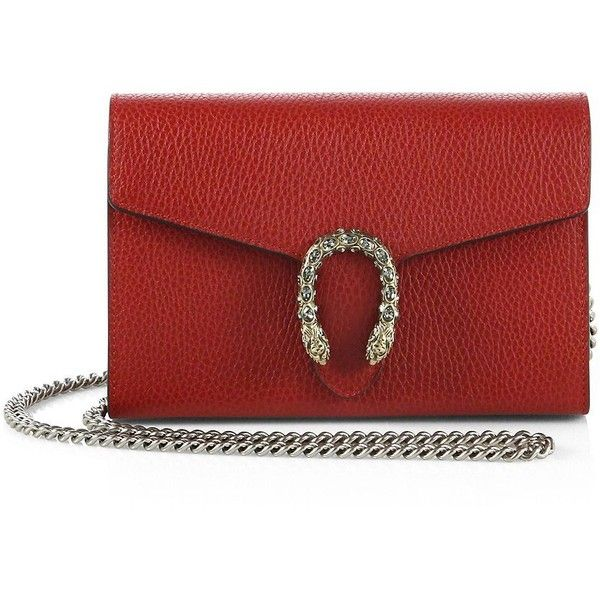 ec1638a3229 Gucci Dionysus Mini Leather Chain Wallet ( 1