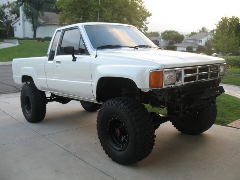 white 85 toyota 4x4 | Dream Cars | Pinterest