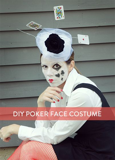 Poker face costume ideas online gambling laws in the uk
