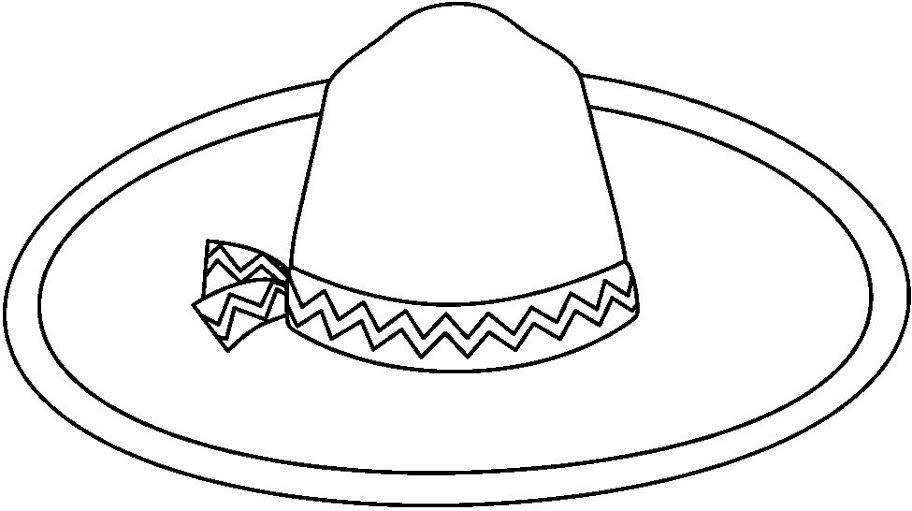 Resultado De Imagen Para Sombrero De Mujer Para Colorear