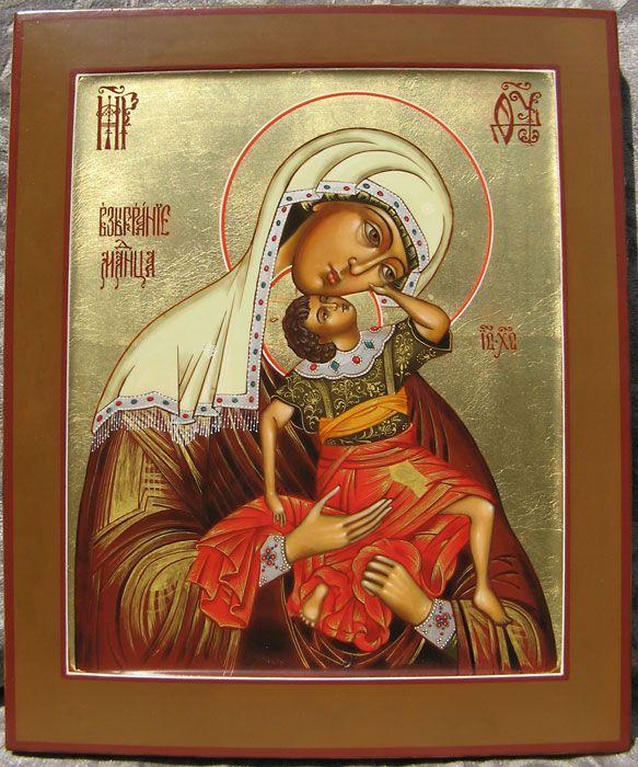 икона фото взыграние младенца
