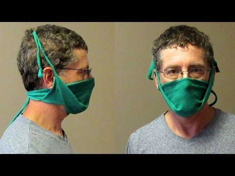 Photo of How To Make A Safety Mask From A T-Shirt