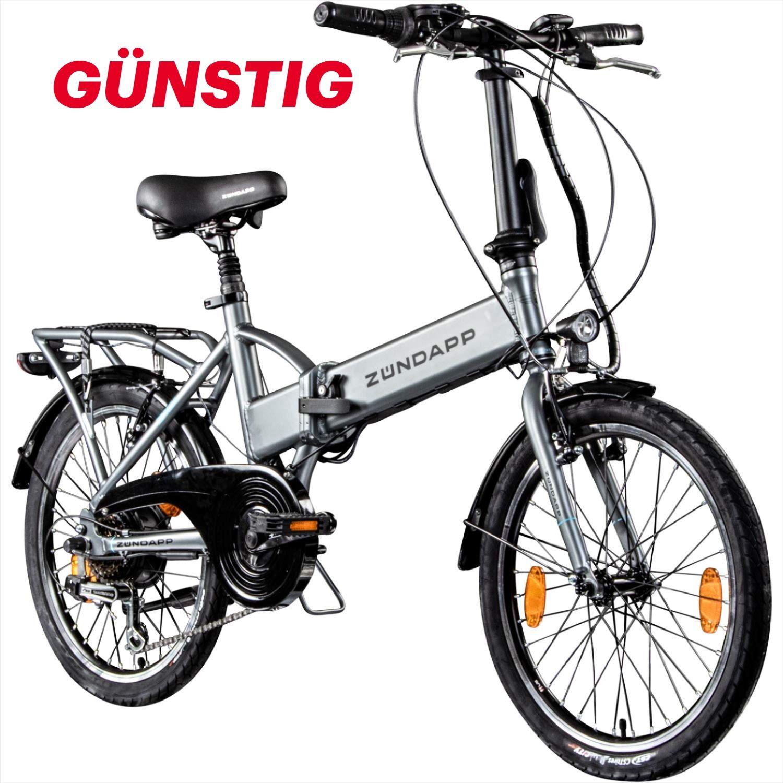 Zundapp Faltrad E Bike 20 Zoll Z101 Klapprad Pedelec Stvzo