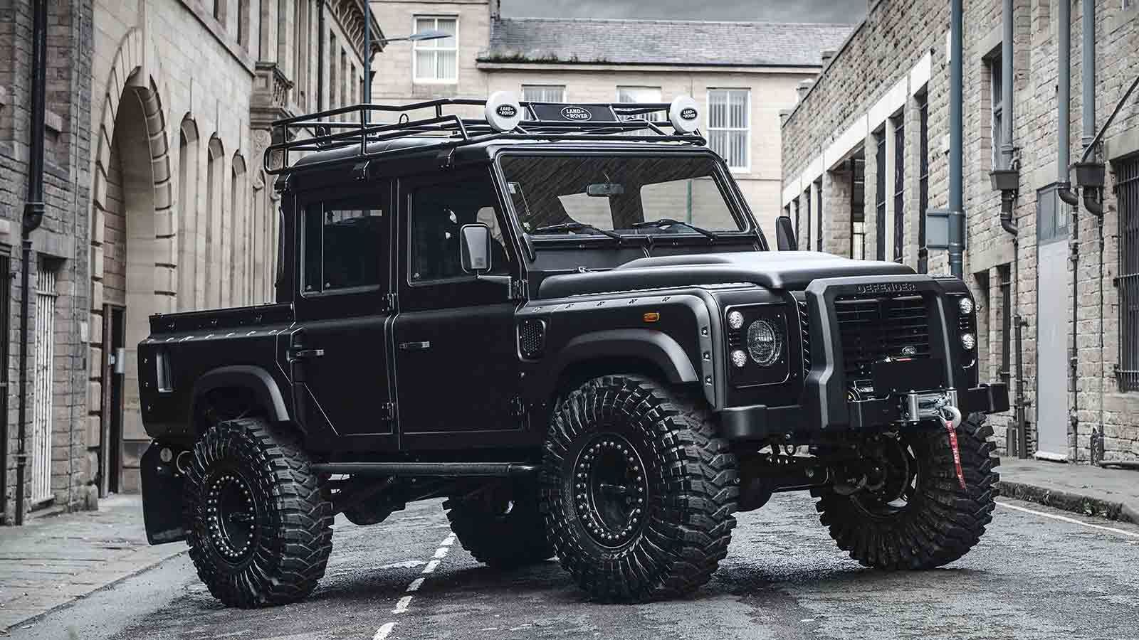 Bigfoot Land Rover Defender By Chelsea Truck Company Muted Land Rover Defender Land Rover Land Rover Defender 110