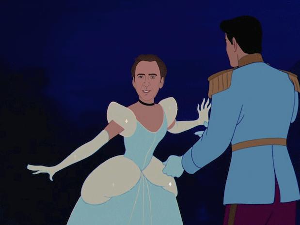 Princess Nicolas Cage Disney Funny Nicolas Cage Every Disney Princess