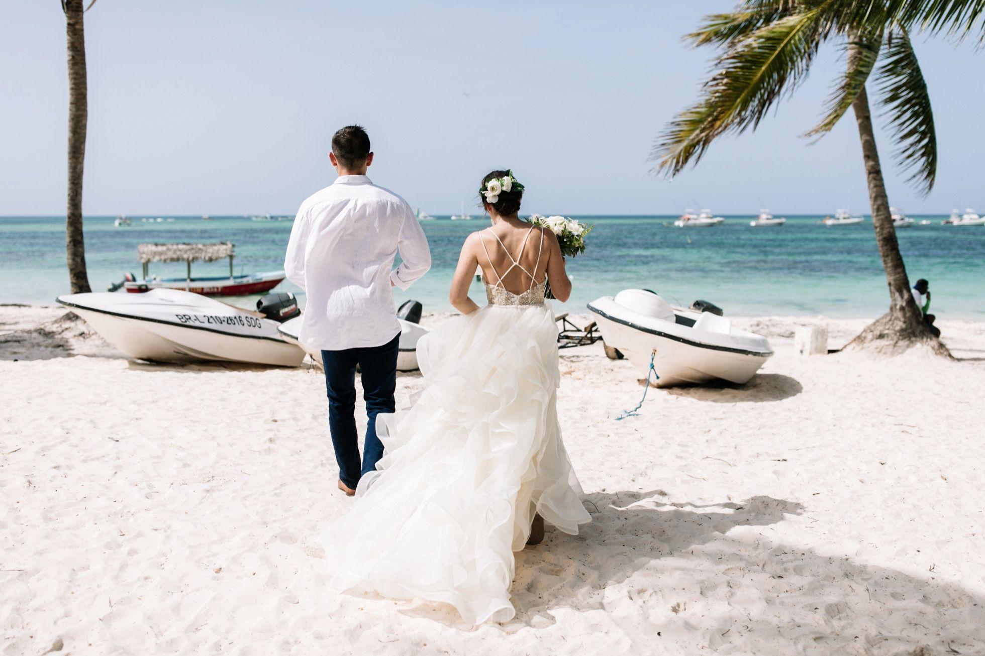 Tropical Beach Punta Cana Destination Wedding