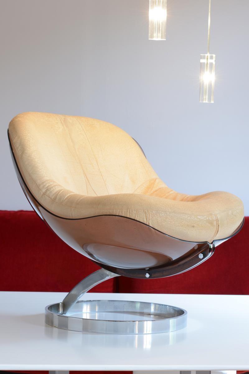 Fauteuil Sphere Boris Tabacoff Mmm Paulin Guariche Perriand Fauteuils Sur Fauteuil Design Meuble Design Mobilier De Salon
