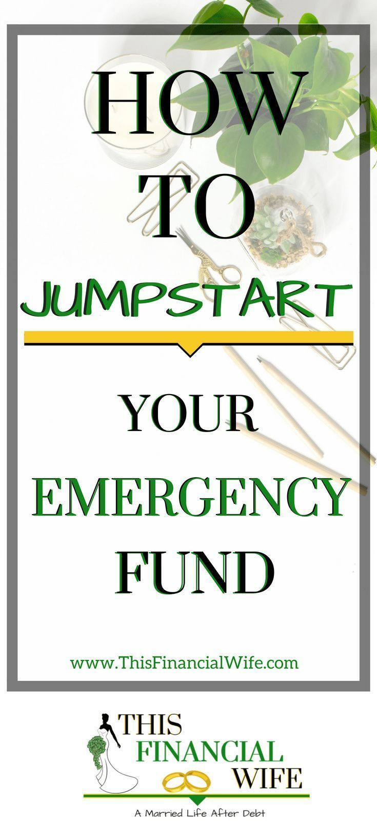 How to jumpstart your emergency fund budgeting money