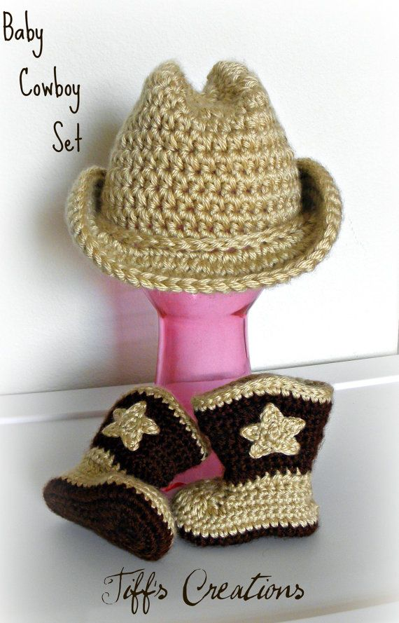 bb7ac3273fe Baby cowboy cowgirl gift set cowboy hat and by creationsbytiff ...
