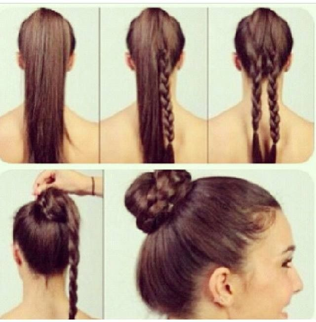 Easy Ways To Do Your Hair For School Hair Styles Hair Up Styles Diy Hairstyles