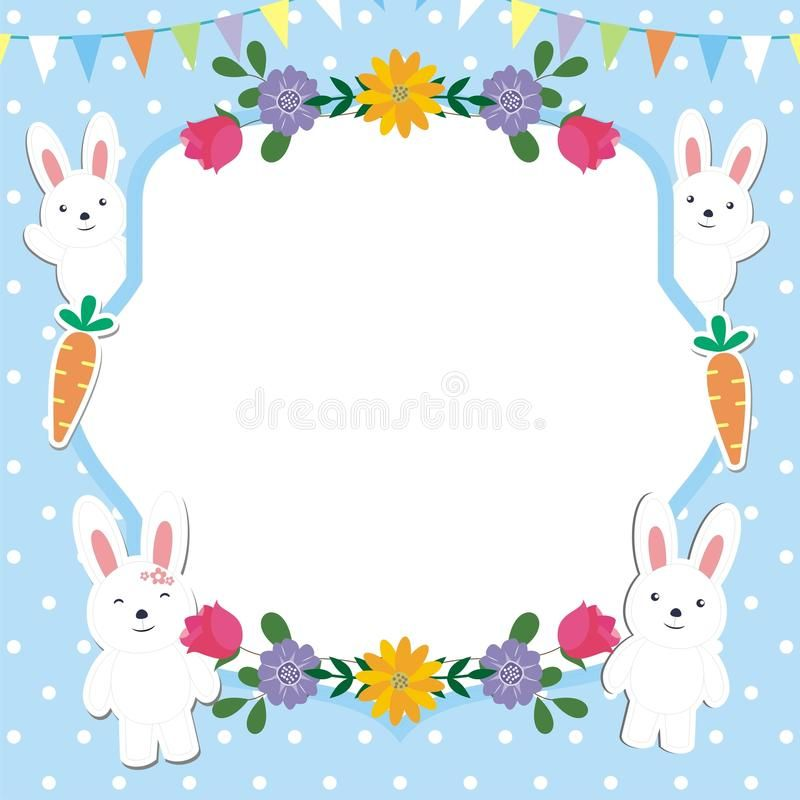 Cool Free Printable Bunny Baby Shower Invitation Template