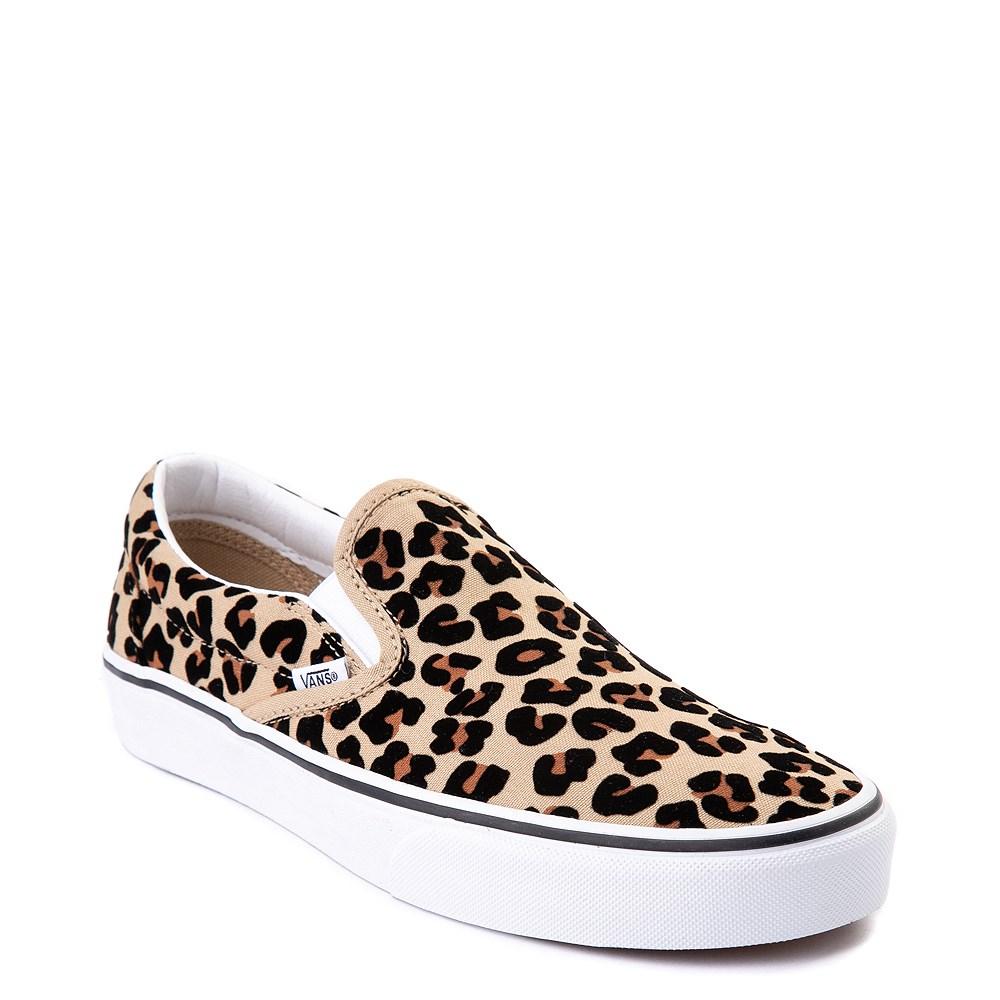 Vans Slip On Skate Shoe - Leopard in