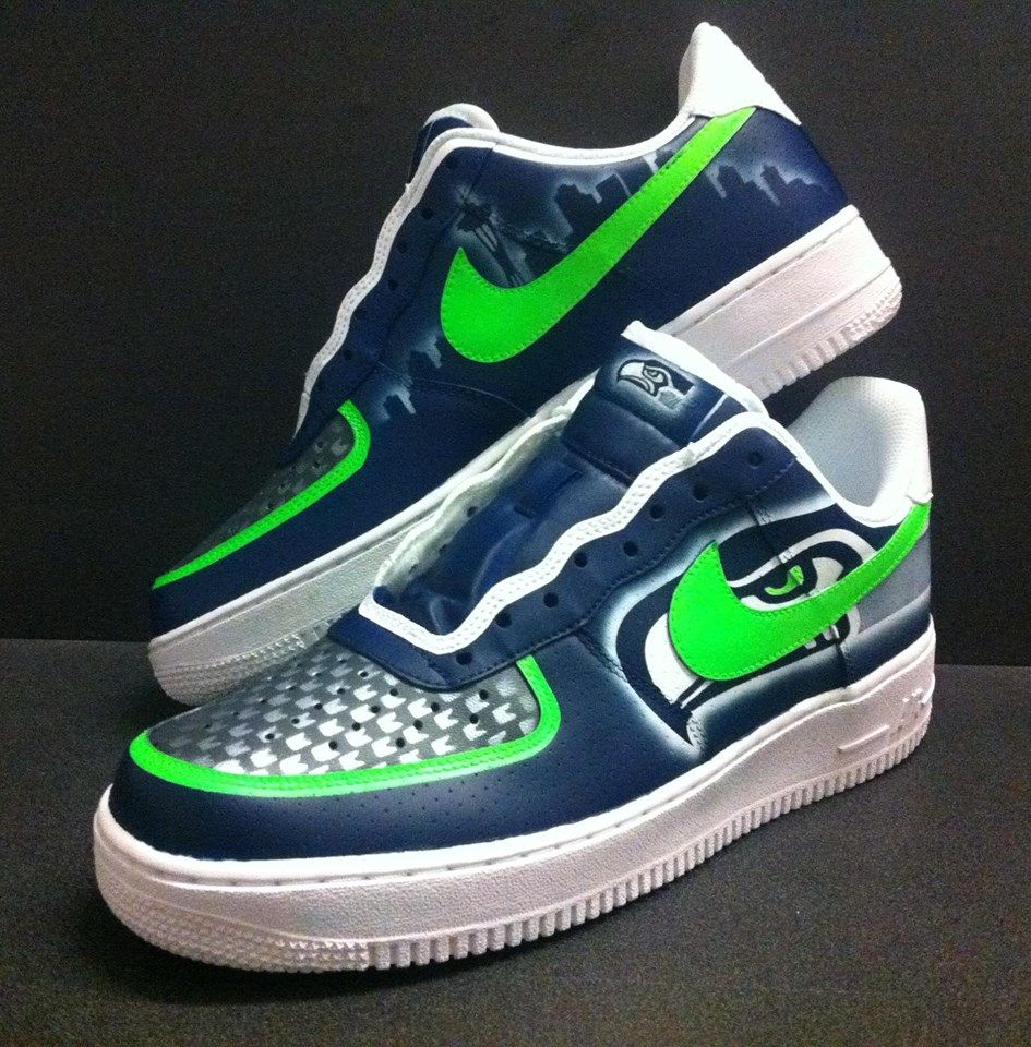 Seattle Seahawks Custom Shoes: Nikes, Chucks, and Cleats
