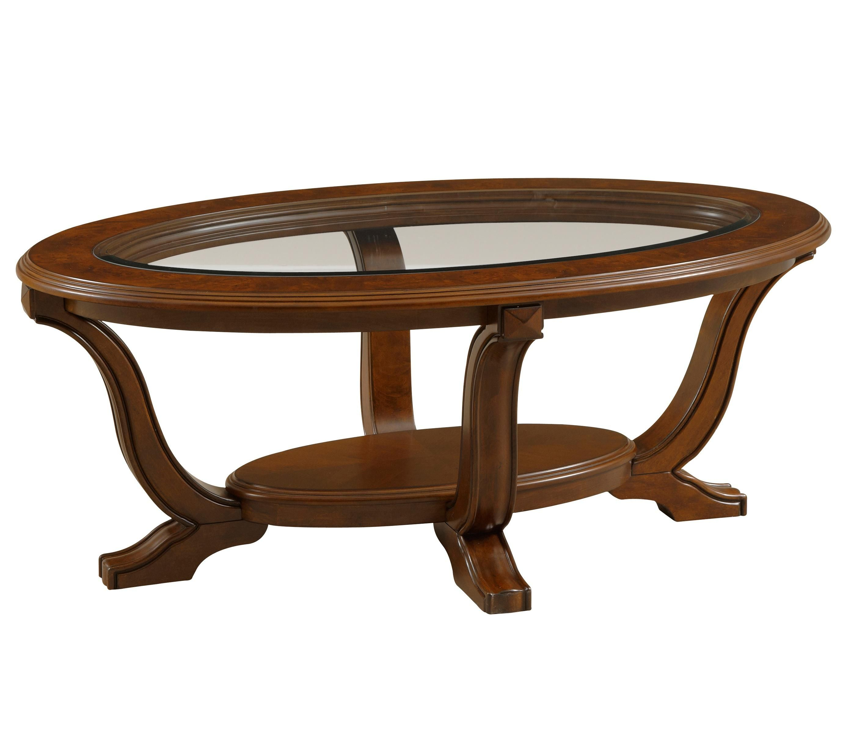Lana Oval Cocktail Table By Broyhill Furniture Coffee Table Oval Coffee Tables Coffee Table Setting [ 2400 x 2760 Pixel ]