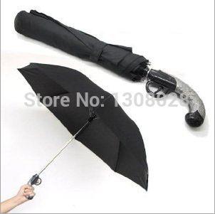 Aliexpress.com : Buy Novelty Umbrella For Sale!Creative Short Gun Shaped Semi Automatic 3 Folding Men Personalized Large Clear Rain Umbrella Paraguas from Reliable umbrella tent suppliers on LDU-Super Market.,Ltd