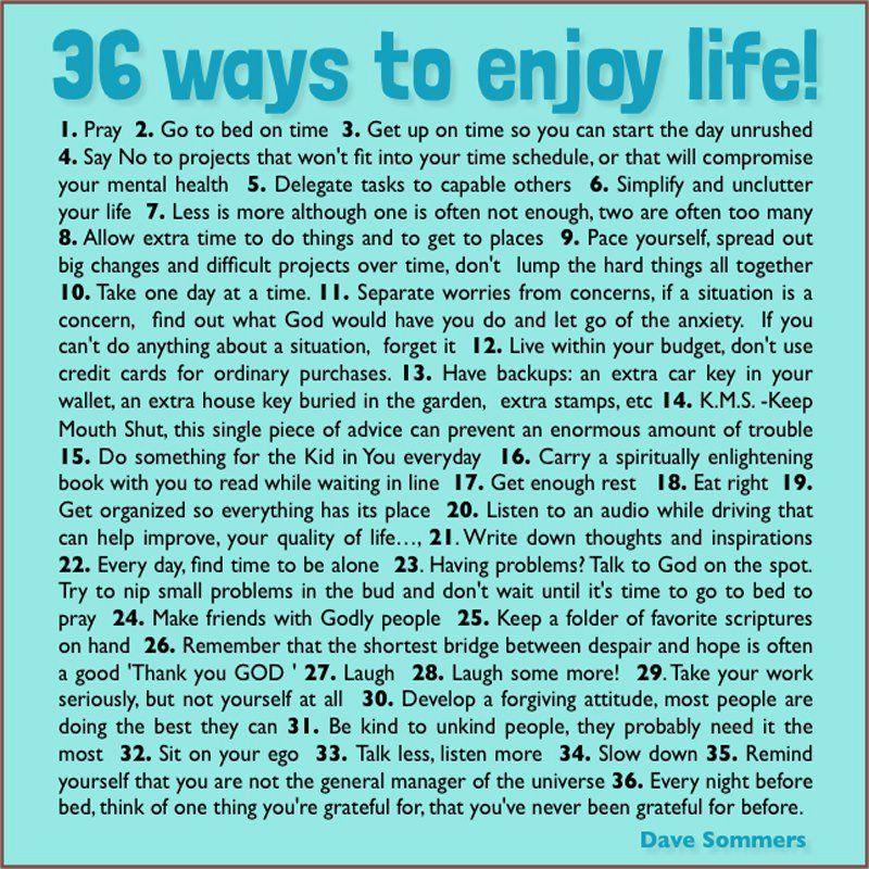 Deep Quotes About Enjoying Life: Enjoy Life, Life Quotes, Deep