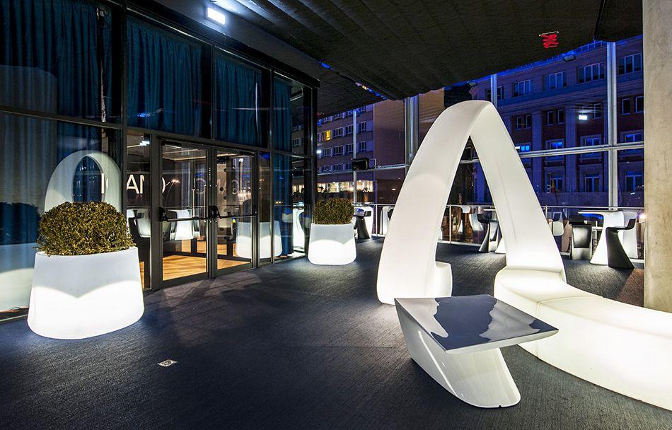 Terraza De La Sala Pelícano Diseño De Interiorismo Y