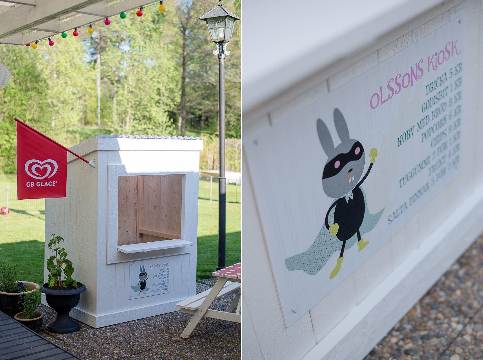 Kiosk / Lekstuga | Hos mig | Pinterest | Kiosk, Barn and Playhouses