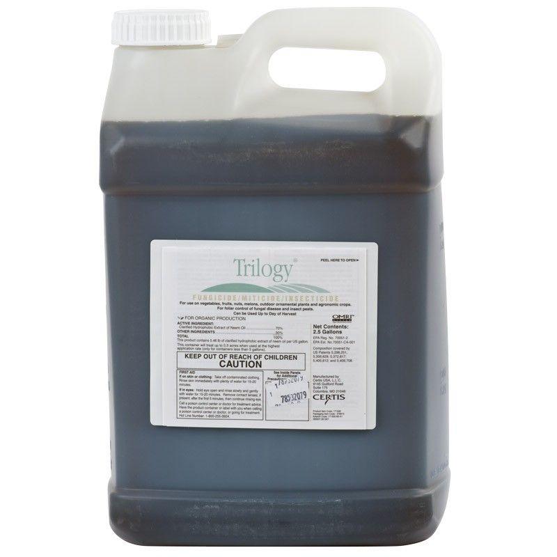 Trilogy Neem Oil Extract (2.5 Gallon)