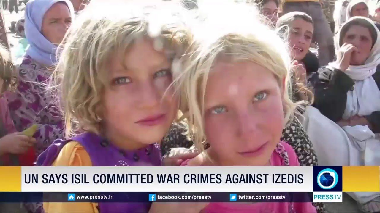 Iraqi forces free a group of Izedi women from ISIL