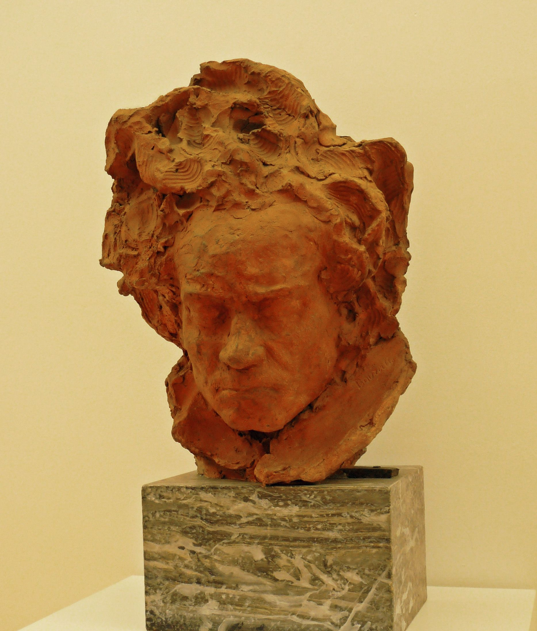 Bust Of Ludwig Van Beethoven 1903 By Emile Antoine Bourdelle Museum Of Modern And Contemporary Art Strasbourg