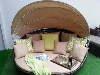 Rattan Outdoor furniture - Kiwi Daybed | Outdoor furniture ...