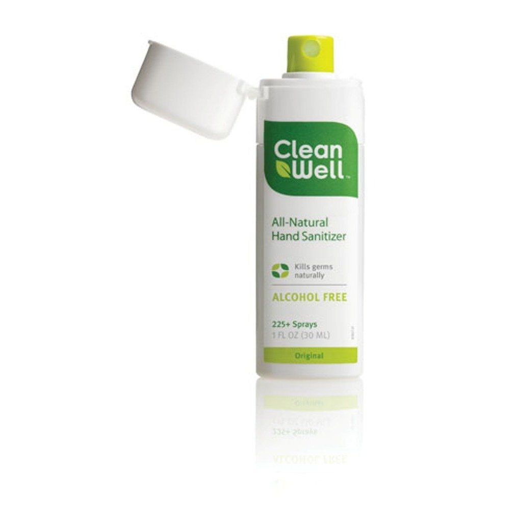 Cleanwell All Natural Hand Sanitizer Original Scent Pocket Size