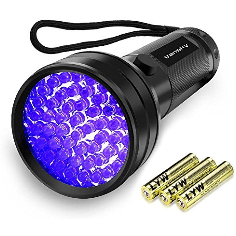 UV Flashlight, Vansky 51 LED Black Light Pet Urine