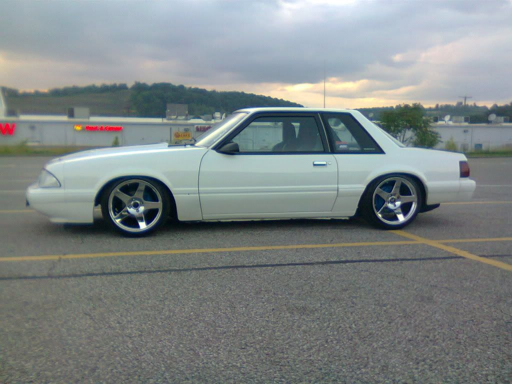 Slammed notchback foxbody yes it s called notchback