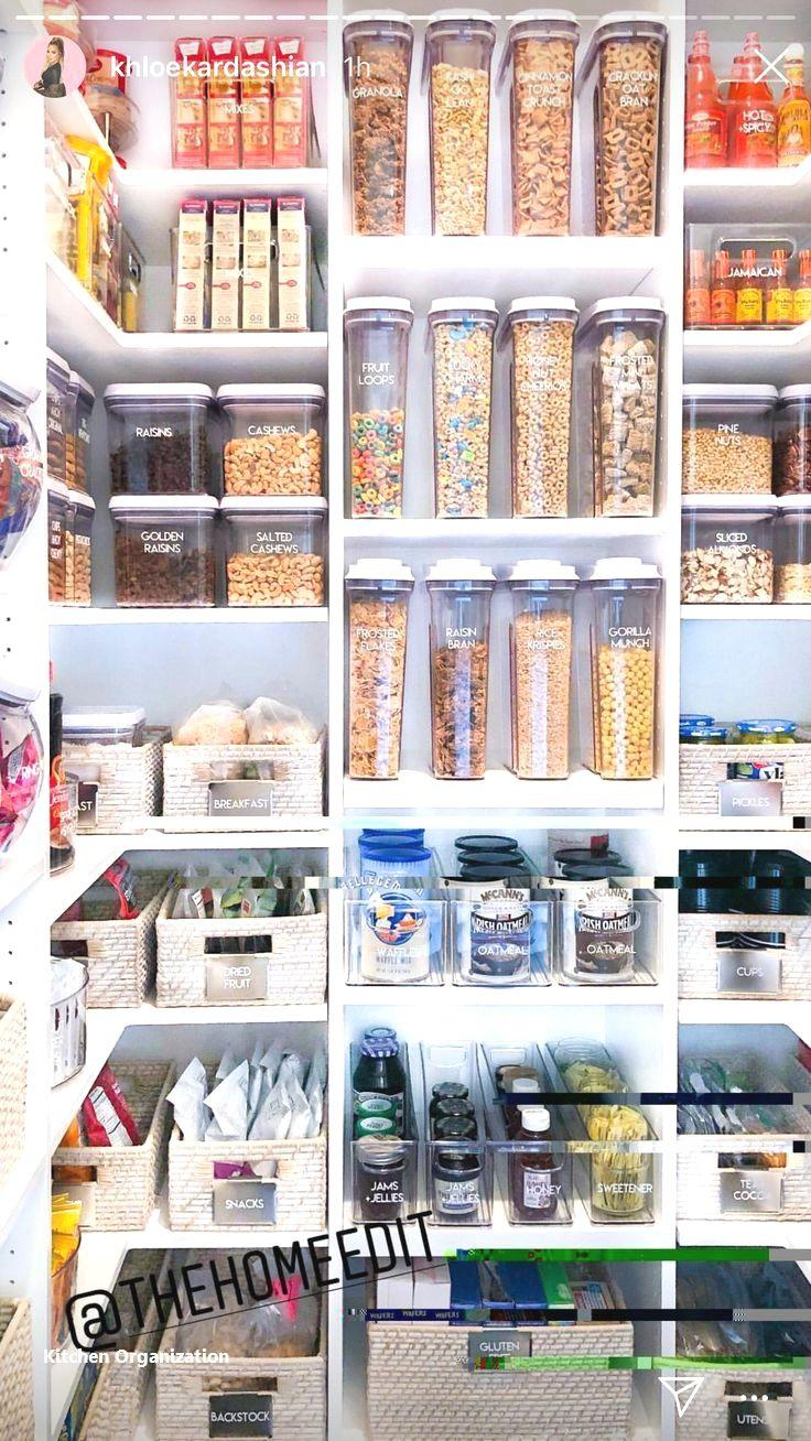 New Kitchen Organization Ideas #diykitchenorganization
