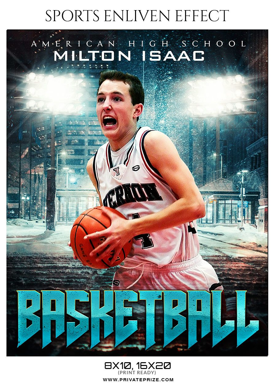 Milton Isaac Basketball Sports Enliven Effect