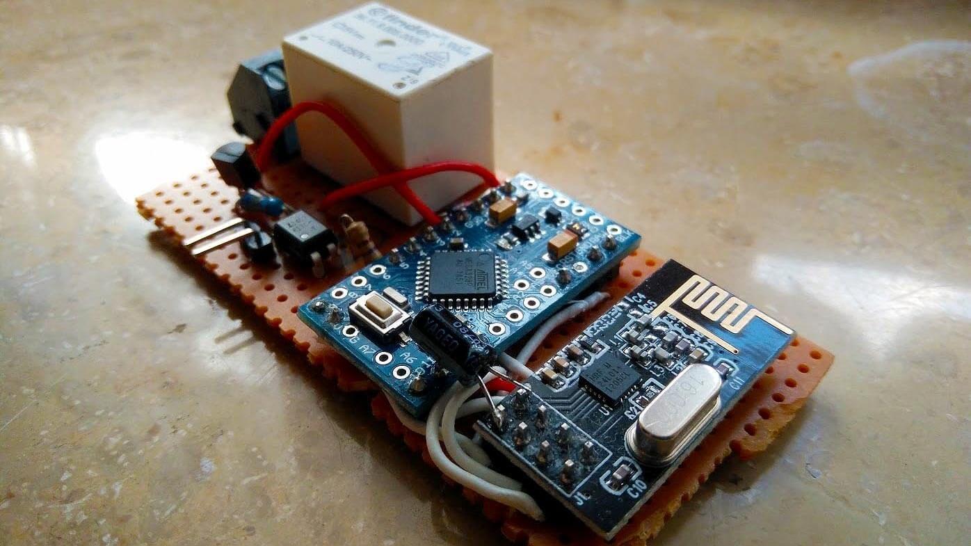 mysensors ist ein framework f r arduino sensoren im smart home dieses tutorial internet of. Black Bedroom Furniture Sets. Home Design Ideas