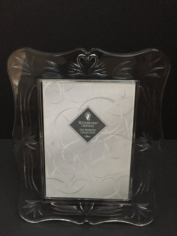Waterford Crystal 5x7 Wedding Picture Frame By Traceyscollectibles