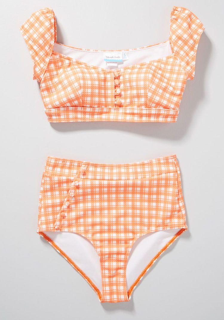 0718428aa1d10 The Sissone High-Waisted Bikini Bottom in 2019 | Bathingsuits ...