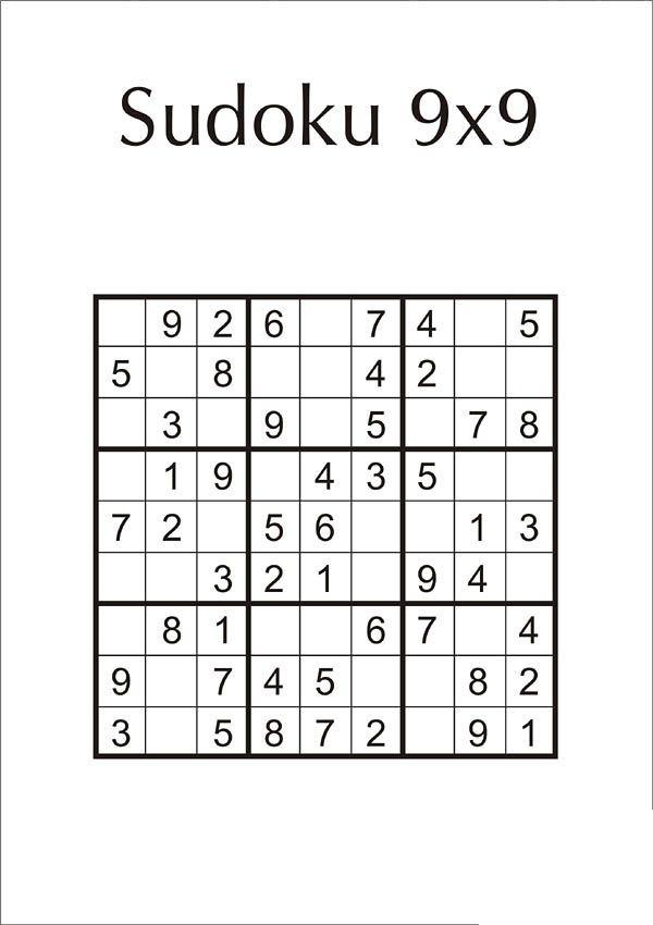 Sudoku Leicht Zum Ausdrucken Kostenlos Ausdrucken Sudoku Kostenlose Ausmalbilder