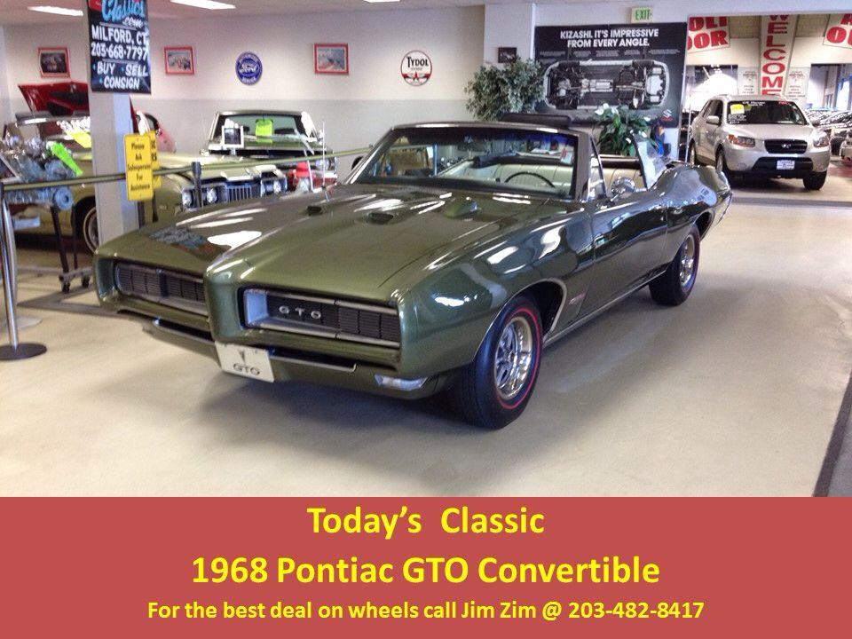 1968 Pontiac Gto 400 Convertible Matching Numbers Build Sheet Year