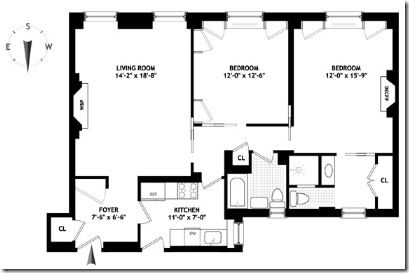 Camdesign Interiors March 2012 Floor Plans Apartment Floor Plan House Floor Plans