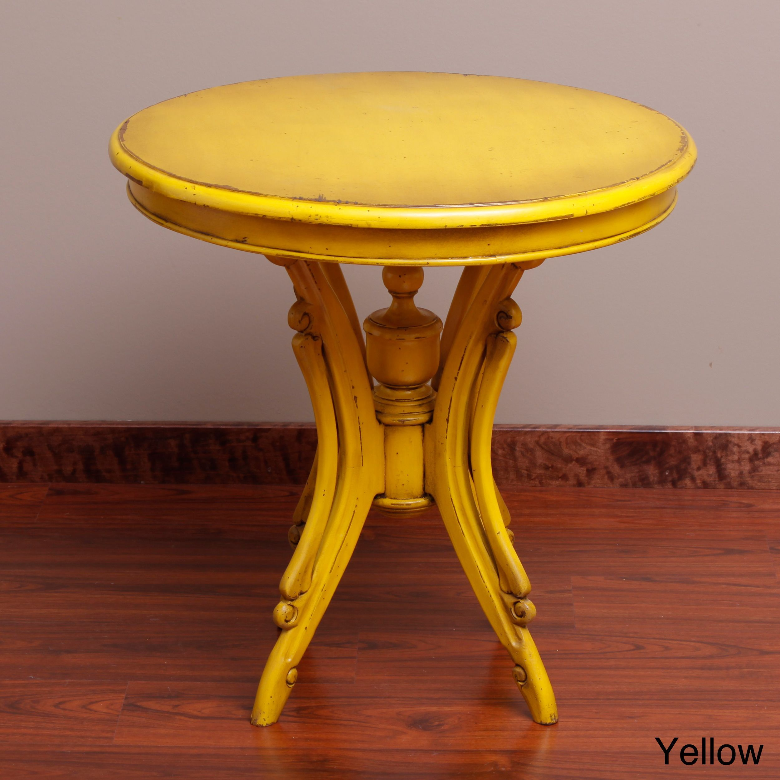 bima handmade kalepso wood circular table indonesia off white