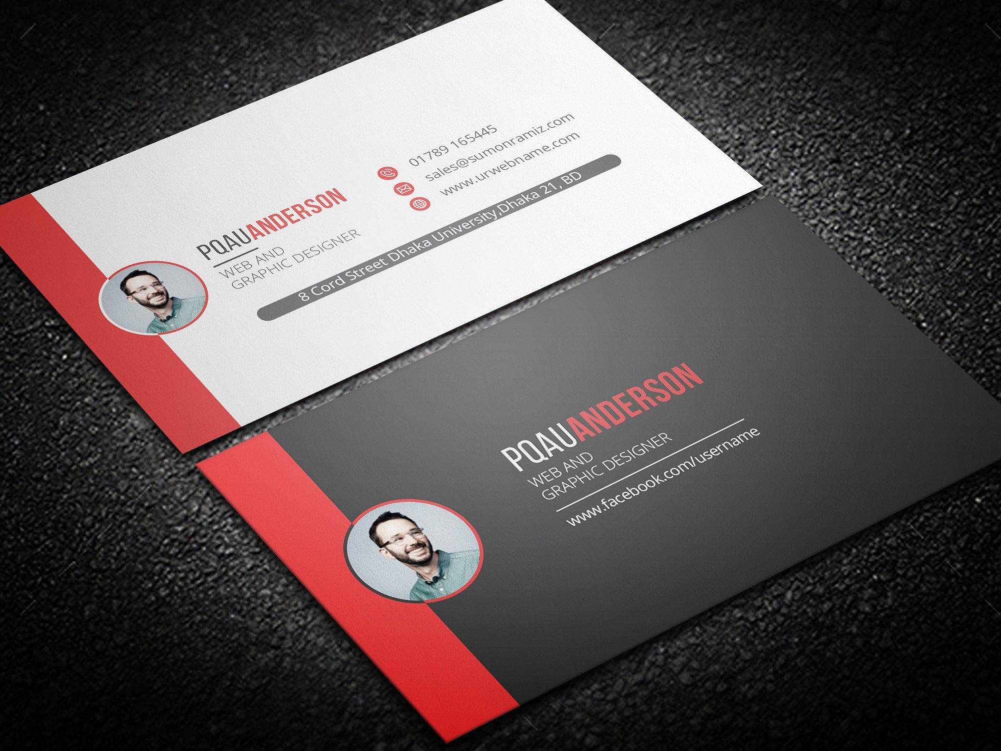 Personal Business Card Personal Business Cards Business Card Template Design Business Cards Creative Templates