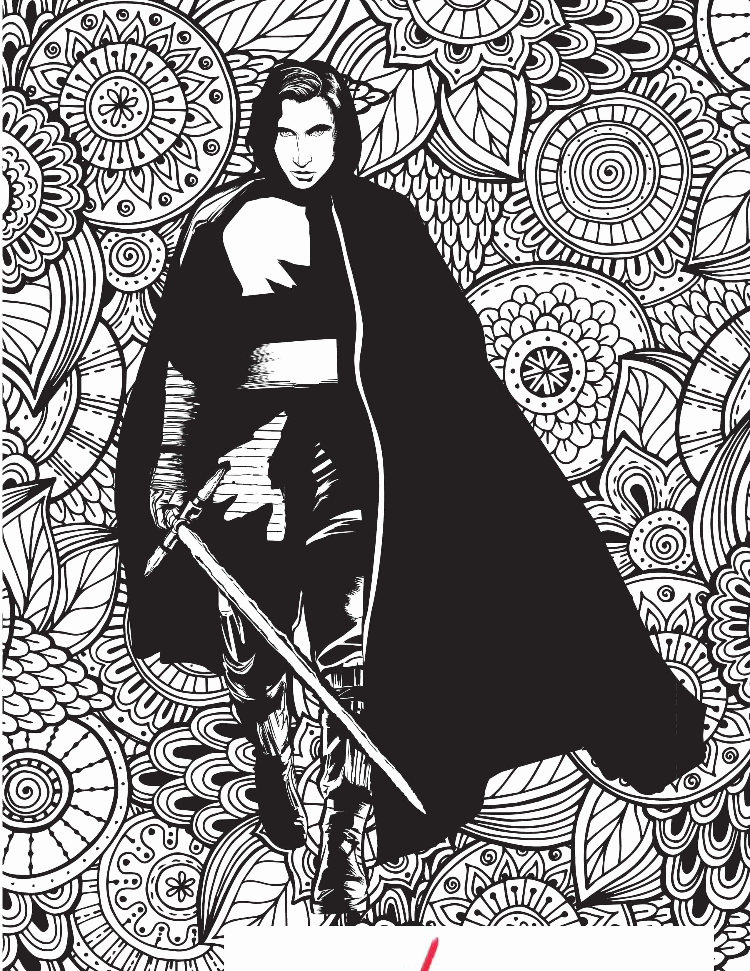 Kylo Ren Coloring Page Inspirational Free Star Wars Coloring Pages In 2020 Star Wars Printables Coloring Pages Star Wars Printables Free