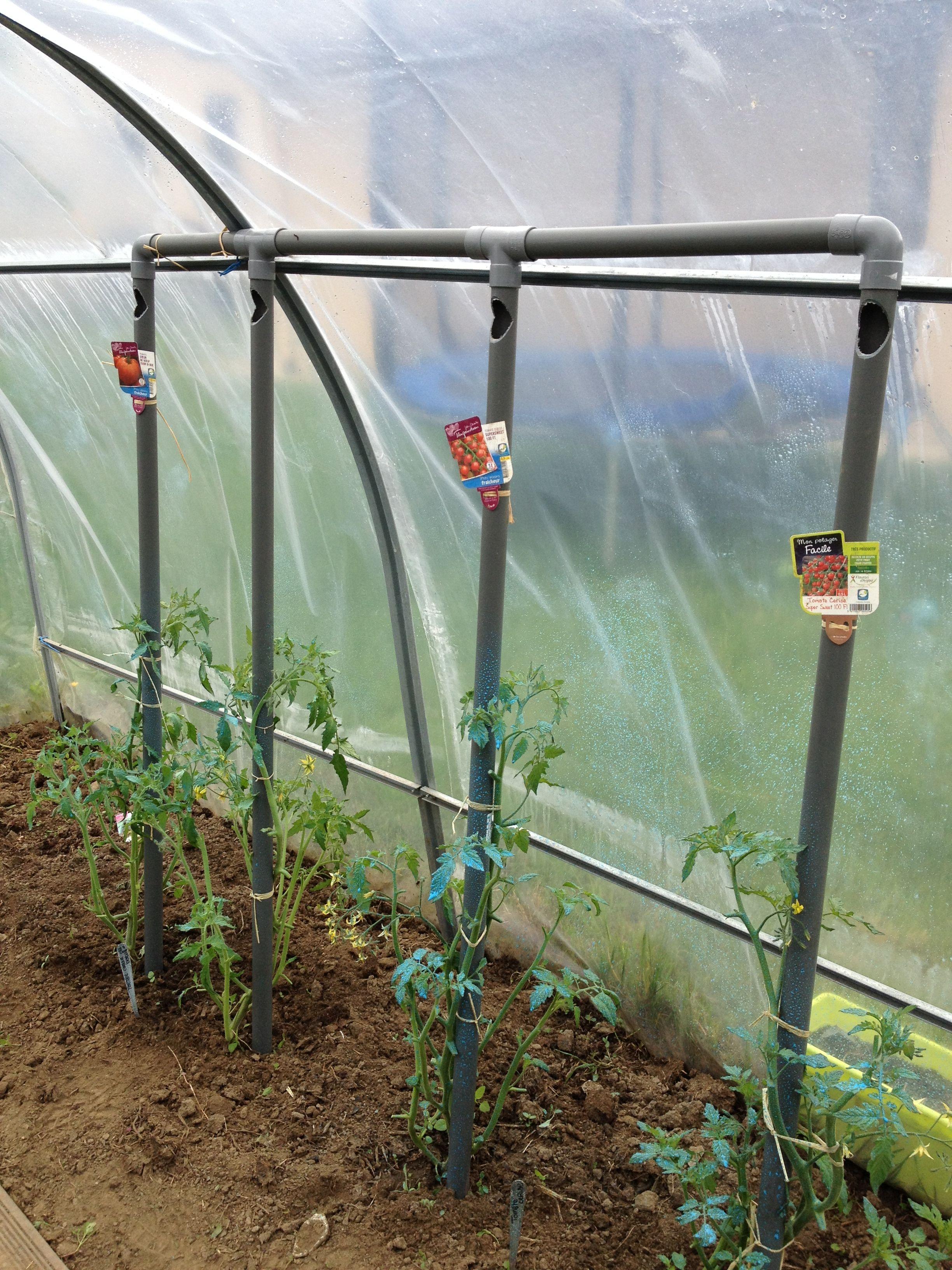 Astuce d 39 arrosage pour les tomates il faut penser a faire un trou a la perceuse dans le bas du - Comment decoller un tuyau pvc ...