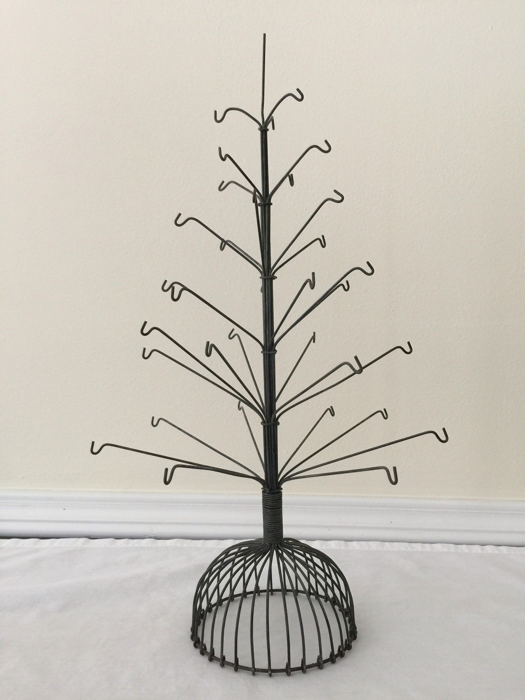 "Wire Tree Decoration 19/"" Tall"