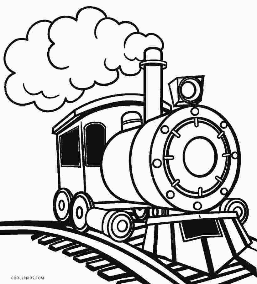 Steam Engine Train Coloring Page Tractor Coloring Pages